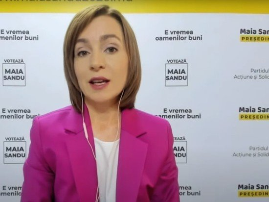 Экс-премьер Санду обошла Додона на выборах в Молдавии