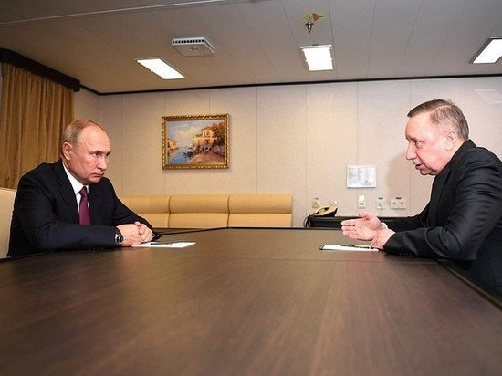Беглов скрыл перед Путиным панику из-за COVID-19
