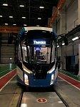 В Ульяновск поставлена новая партия трамваев «Львенок»