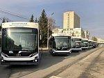 Омский автопарк пополнился новыми троллейбусами