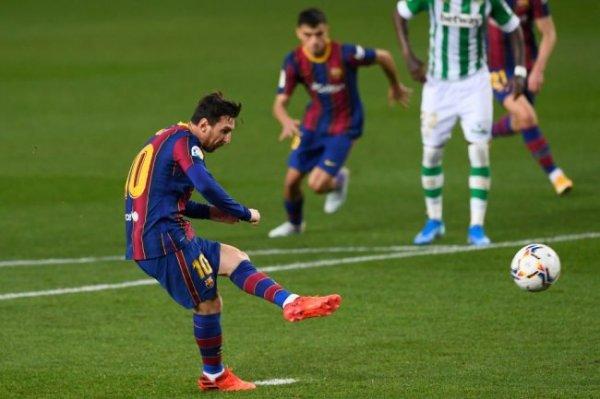 Месси забил первый гол с игры в нынешнем сезоне