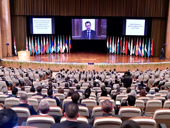 Участники конференции в Дамаске обвинили Запад в бедах сирийских беженцев