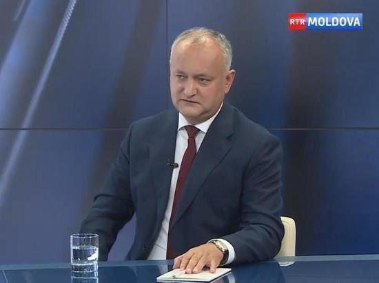 Додон: победа Санду в Молдавии осложнит отношения с Россией
