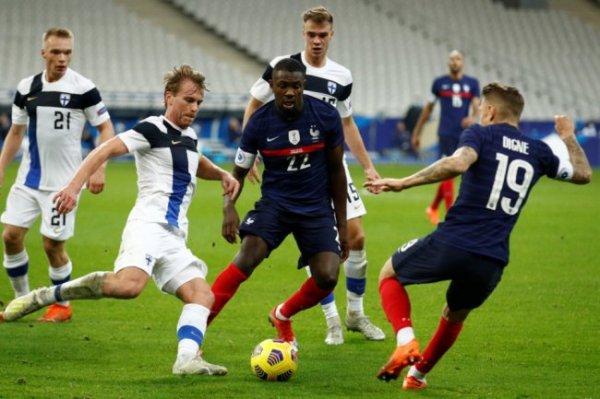 Финские футболисты победили французов в товарищеской игре