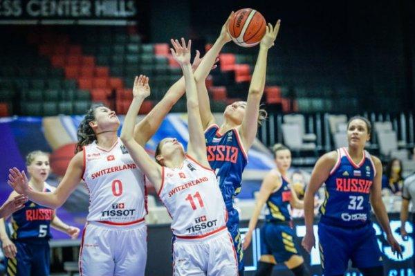 Женская сборная РФ по баскетболу разгромила команду Швейцарии - 98:42