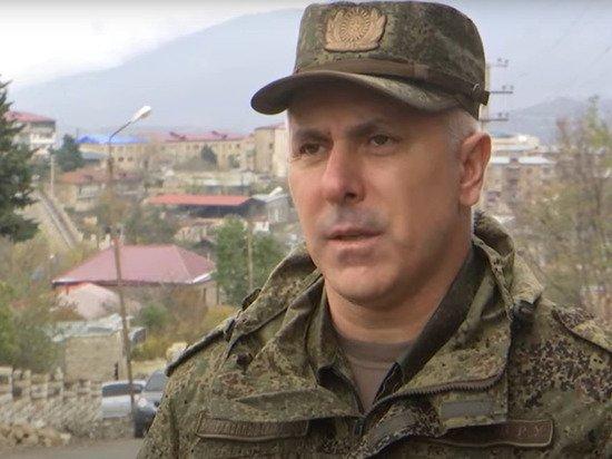 Командующий российскими миротворцами в Карабахе генерал Мурадов раскрыл свою национальность