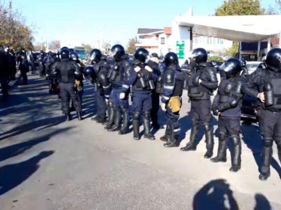 ЦИК Молдавии осудил насильственные действия протестующих в Варнице