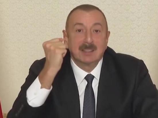Алиев: Ереван ответит за разрушение инфраструктуры в Карабахе