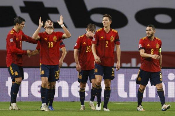 Сборная Испании разгромила Германию со счетом 6:0