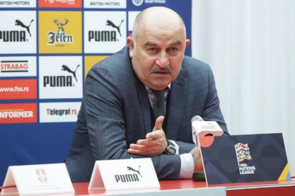 Станислав Черчесов: Не думаю, что Дзюба много чего добавляет нам в игре