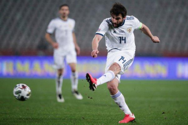 Дивеев и Джикия получили травмы в матче против Сербии