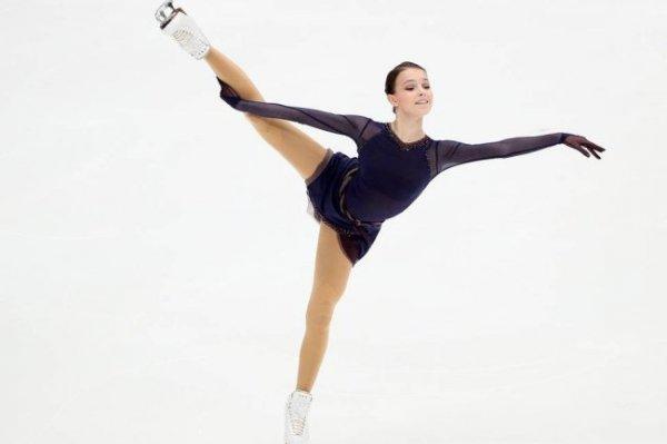 Фигуристка Анна Щербакова снялась с этапа Гран-при в Москве