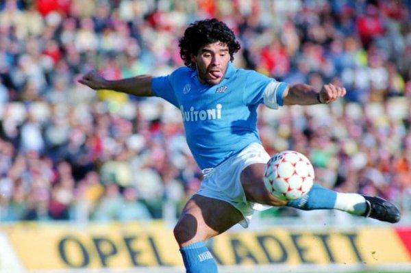 Собрана подборка самых ярких голов Диего Марадоны