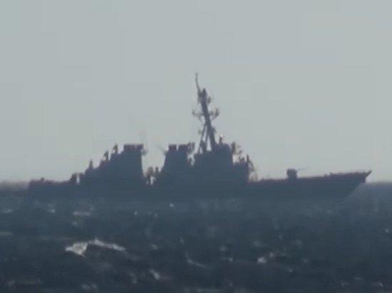 Россия назвала «провокацией» заход эсминца США в свои территориальные воды