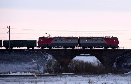 В Новосибирской области более половины сошедших с рельсов вагонов перевернулись