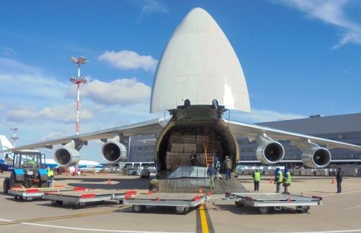 Ан-124 во время экстренной посадки повредил ВПП в Новосибирске