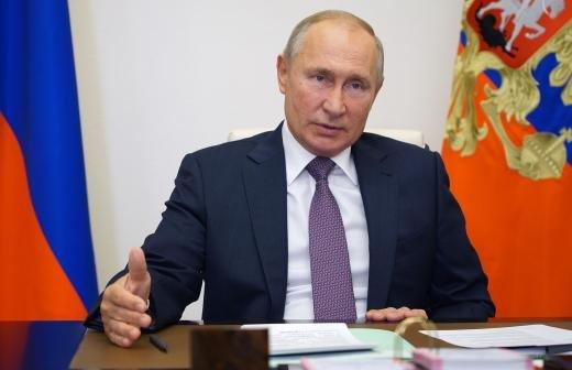 Путин впервые показал свою комнату отдыха в Ново-Огарево