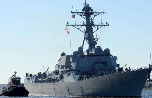Адмирал прокомментировал нарушение границ России эсминцем США