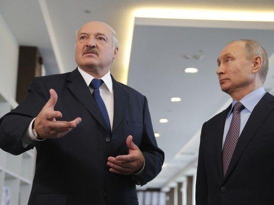 Лукашенко рассказал Путину об