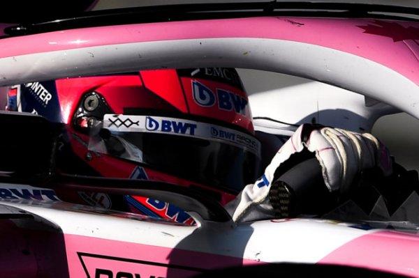 Перес впервые в карьере выиграл этап