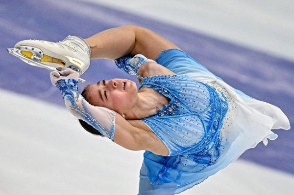 Валиева на этапе Кубка России получила оценки выше мирового рекорда