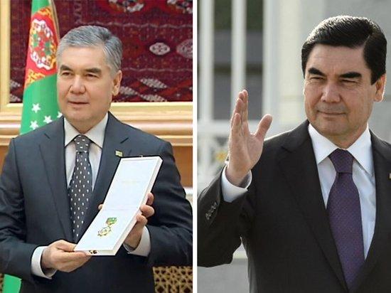 Президент Туркмении перестал красить волосы