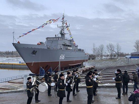 Минно-тральный корабль «Яков Баляев» вошел в состав ТОФ