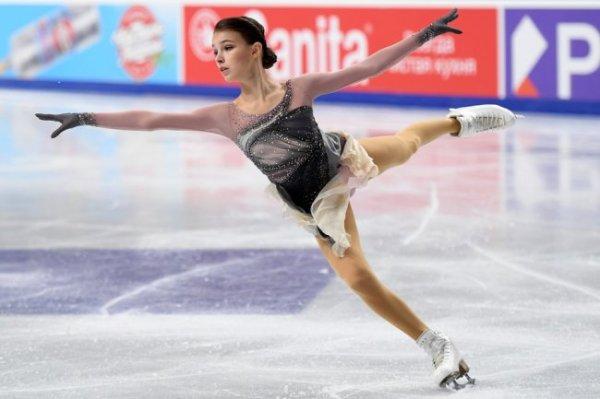 Фигуристка Анна Щербакова одержала победу на чемпионате России