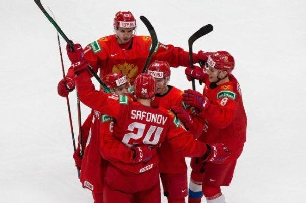 Россия разгромила Австрию на молодежном ЧМ по хоккею