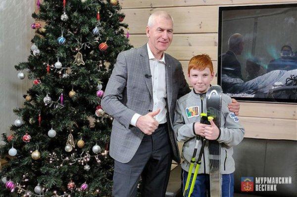 Министр спорта РФ исполнил мечту 10-летнего мальчика