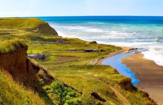 Остров на Сахалине назвали именем маршала Василевского
