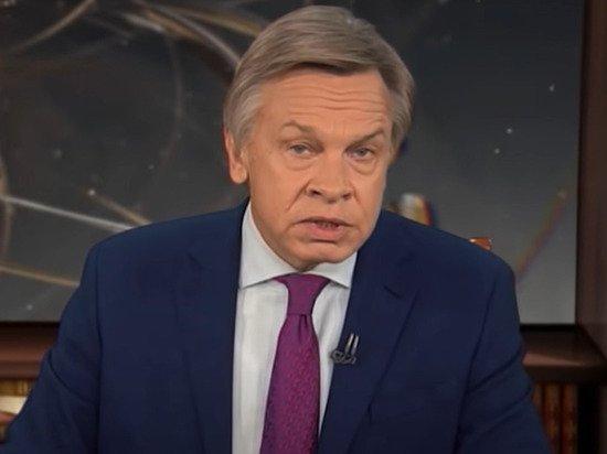 Пушков назвал «образцом цинизма» новогоднее заявление Зеленского о Крыме