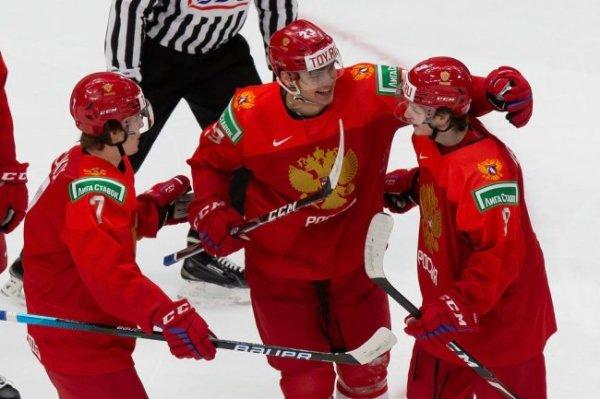 Россия - Германия - онлайн-трансляция матча 1/4 финала МЧМ по хоккею