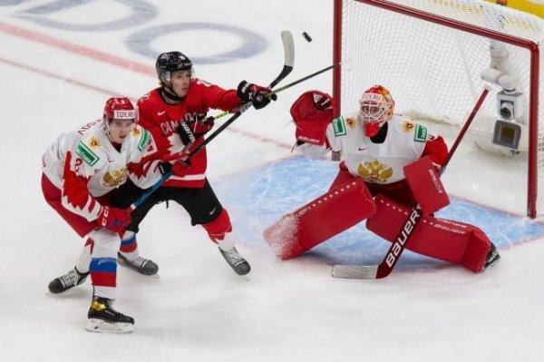Канада разгромила Россию в полуфинале МЧМ по хоккею