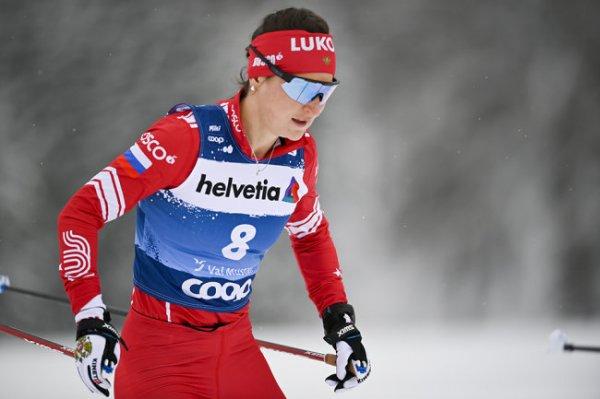Юлия Ступак выиграла гонку преследования на
