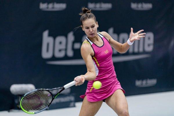 Кудерметова разгромила соперницу на турнире в Абу-Даби