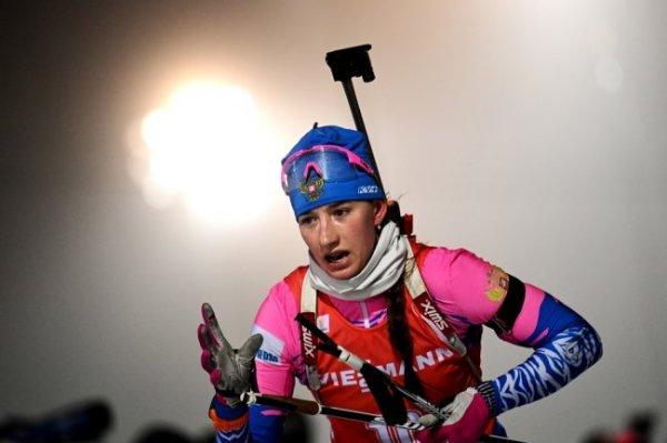 Миронова стала четвертой в гонке преследования в Оберхофе