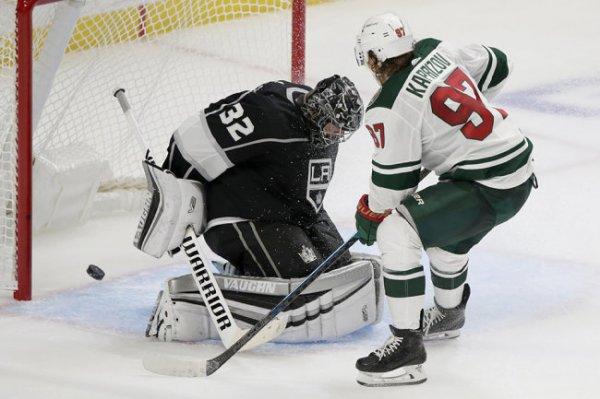 """Первый гол Капризова в НХЛ принес """"Миннесоте"""" победу в овертайме"""
