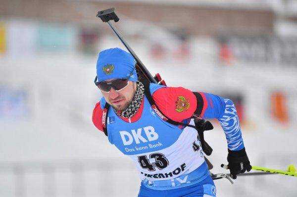 Сборная РФ по биатлону стала четвертой в эстафете на этапе КМ в Оберхофе