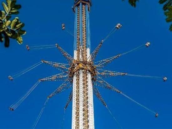 Самая высокая в мире карусель открылась в Дубае
