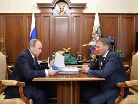 Титов прокомментировал «желание» Путина работать в «Абрау-Дюрсо»