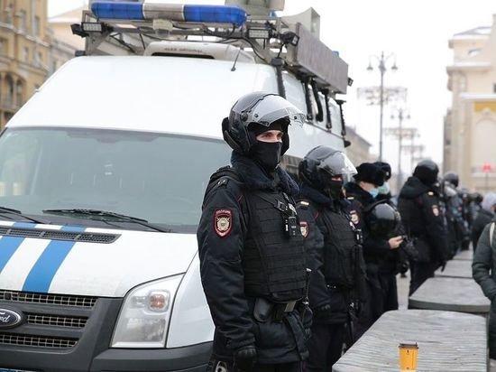Незаконные акции за Навального 31 января: онлайн-трансляция