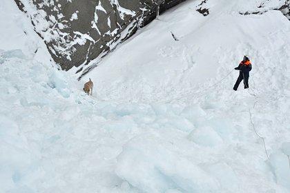 На российском горнолыжном курорте сошла лавина
