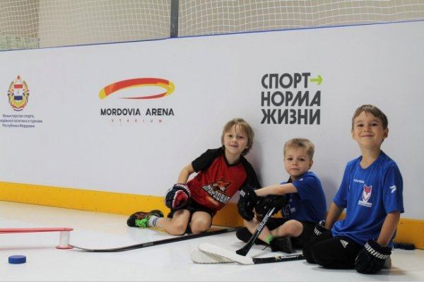 В регионах открываются новые хоккейные площадки