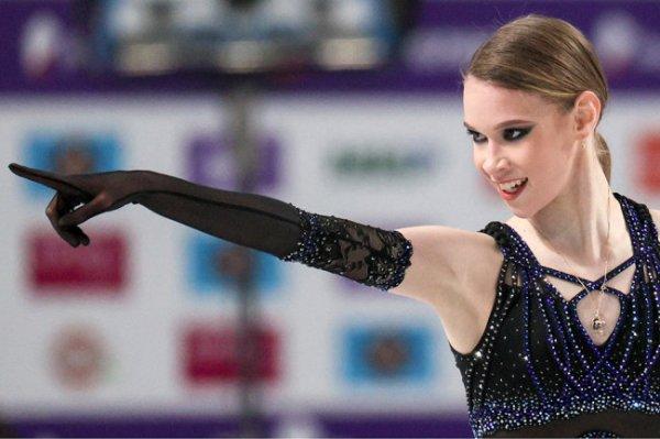 Фигуристка Хромых заменит Косторную на командном турнире в Москве