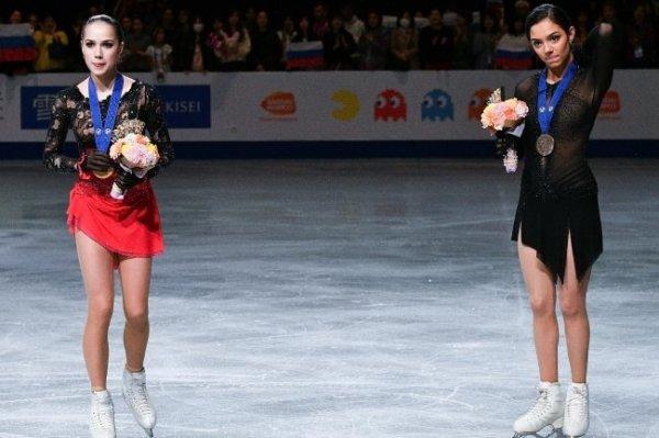 Загитова и Медведева назвали сильнейшие качества друг друга