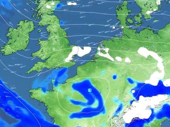 На Британию надвигается шторм «Дарси»