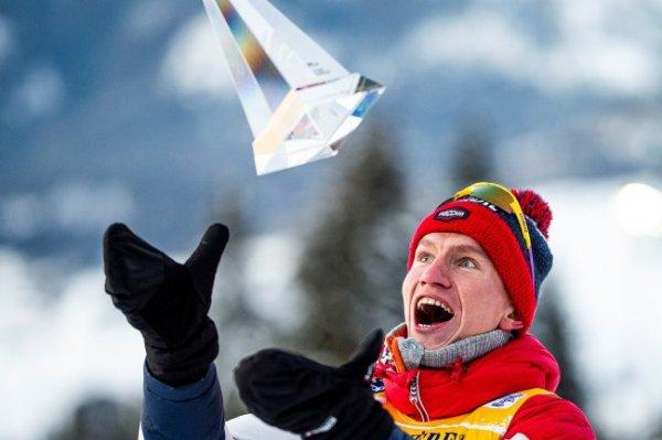 Большунов досрочно выиграет Кубок мира по лыжным гонкам