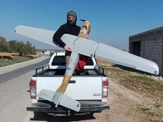 Боевики в Сирии опубликовали фотографию российского беспилотника