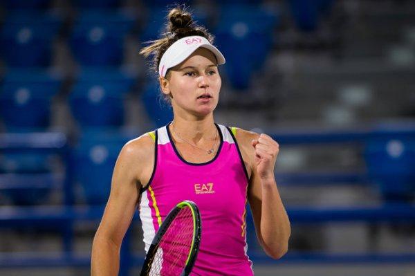 Россиянка Кудерметова впервые в карьере вышла в третий круг Australian Open